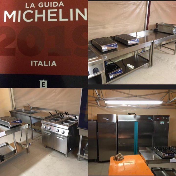 NOLEGGIO cucina presentazione guida Michelin