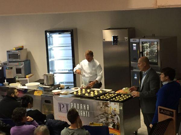 Chef Daniele Persegani presenta Magistar e rapido