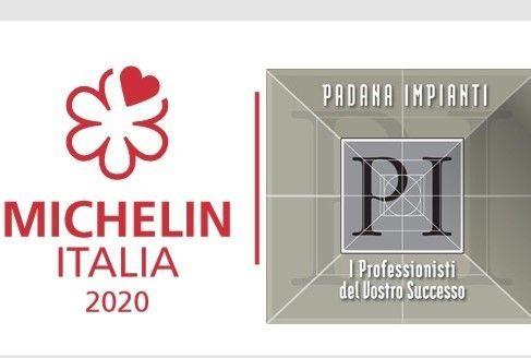 Padana Impianti, partner tecnico presentazione guida Michelin 2020