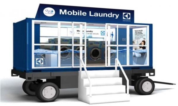 Electrolux Mobile Laundry